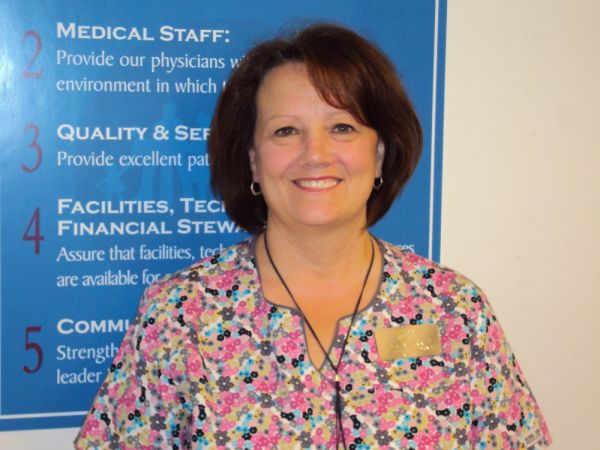 Karen Zirkle Awarded GAHHS Employee of the Month for August