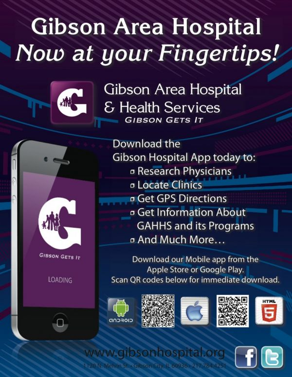 GAHHS Now on Your Smart Phone!