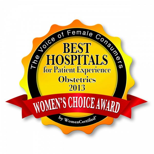 GAH OB Department Awarded Women's Choice Award