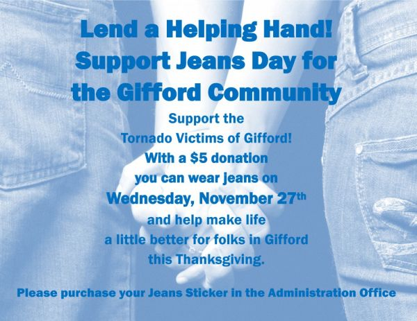 Jeans Day for Gifford