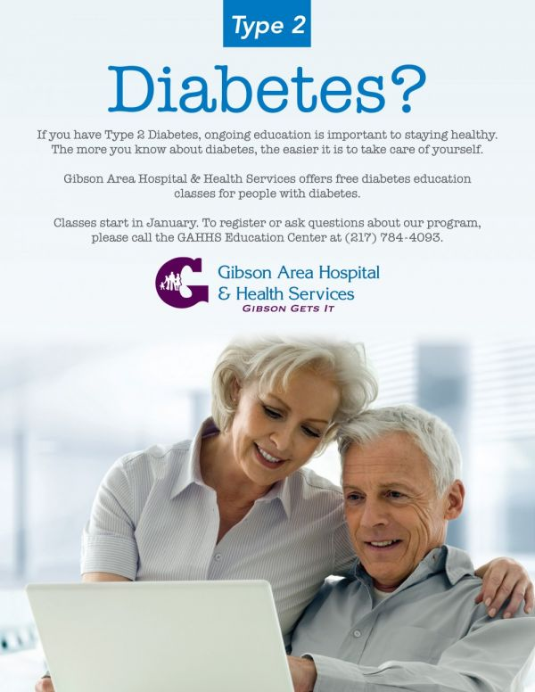 GAHHS to Offer Free Diabetes Education Classes Again