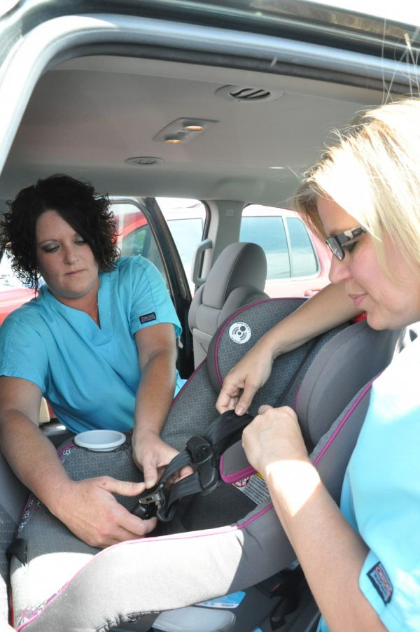 GAHHS OB Techs Receive Certification as Child Passenger Safety Techs