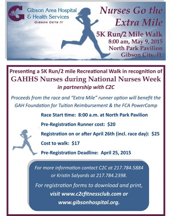 GAHHS Nurses to host 5k Run/Walk
