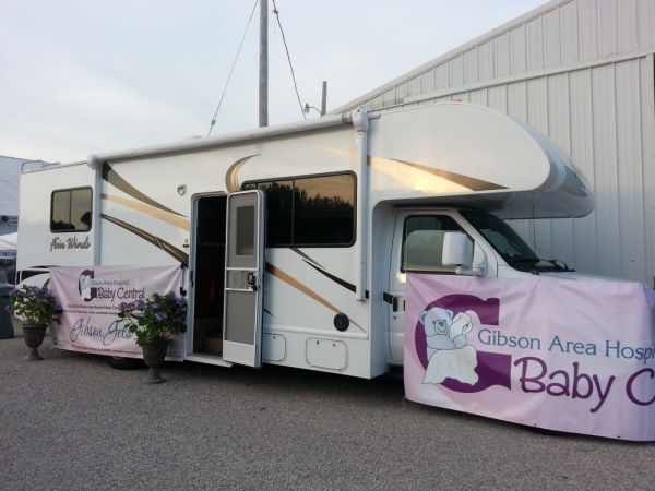 Baby Central RV visits Gibson City Harvest Fest on October 10th