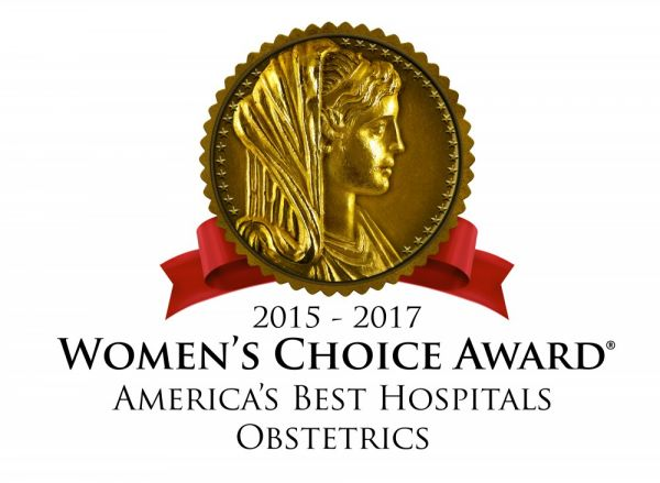 GAH Receives the 2017 Women's Choice Award® as one of America's Best Hospitals for Obstetrics