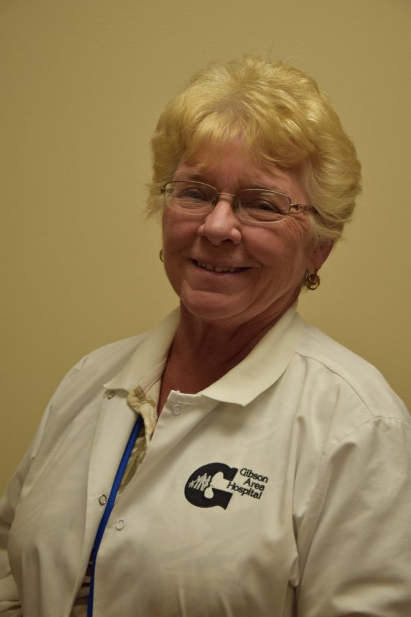 Gibson Area Hospital Honors Sylvia Day for More than Three Decades of Service