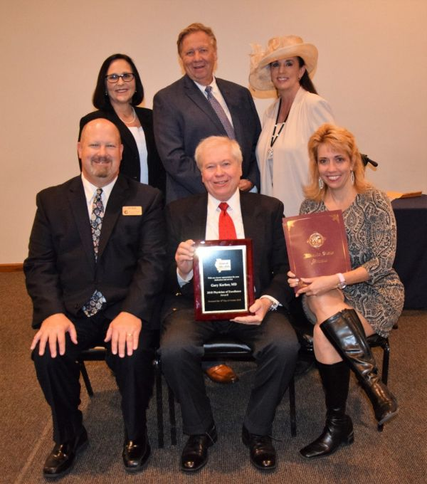 GAHHS Radiologist Gary Kerber, MD, Receives 2018 Illinois Rural Physician of Excellence Award