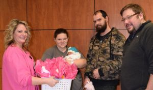 Gibson Area Hospital Welcomes the First Baby of 2019