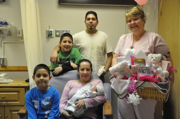 Gibson Area Hospital Welcomes the First Baby of 2012