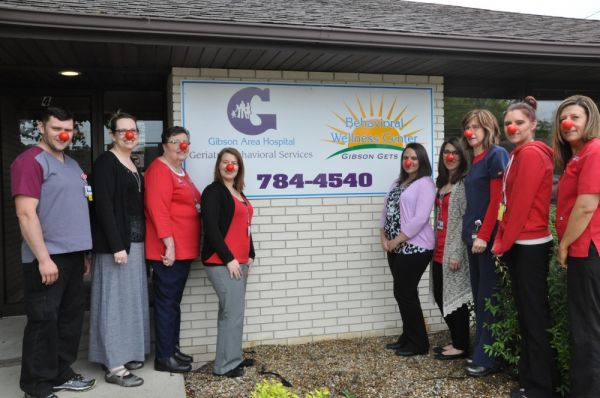 Red Nose Day Celebrated at Gibson Area Hospital
