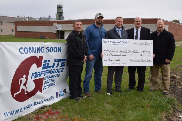 First National Bank of Paxton Donates to GAH's newest Elite Performance in Paxton