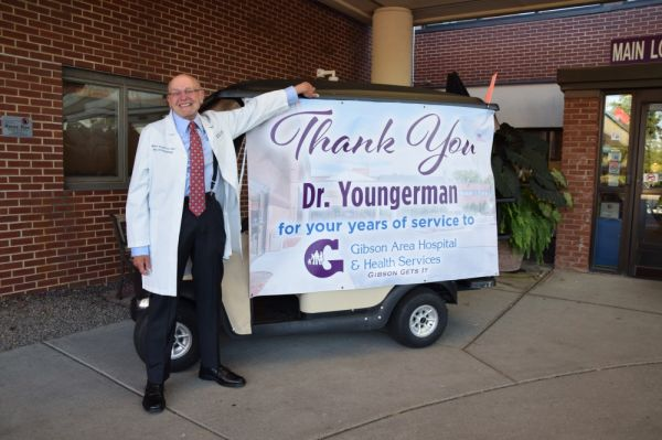 Dr. William Youngerman Celebrated for Over Three Decades of Service at Gibson Area Hospital